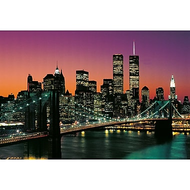 Ideal Decor Manhattan Wall Mural, 100