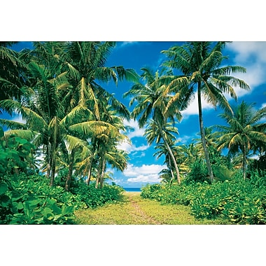 Ideal Decor Island in the Sun Wall Mural, 144