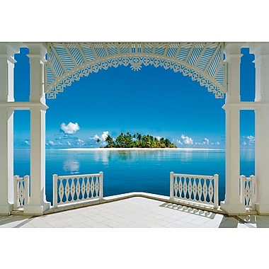 Ideal Decor A Perfect Day Wall Mural, 100