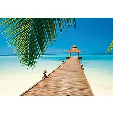 Ideal Decor – Mural Paradise Beach, 144 x 100 po