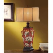 Crestview Paulina 33.5'' H Table Lamp with Oval Shade