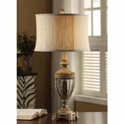 Crestview Classics 31.5'' H Table Lamp with Oval Shade