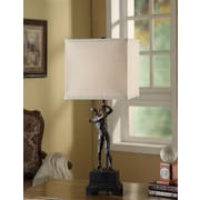 Crestview Hole In One 29'' H Table Lamp with Square Shade