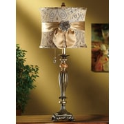 Crestview Fairfield 29.75'' H Table Lamp with Oval Shade