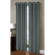 Bella Luna Henley Room Darkening Grommet Curtain Panels (Set of 2); Dusty Blue