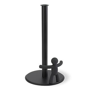 Umbra Buddy Paper Towel Holder, Black