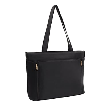 "Stebco Upto 17"" Computer Compartment Ladies Bag, Black"