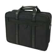 "Bond Street Nylon Briefcase for 15"" Laptop, Black"