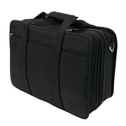 "Bond Street Executive Briefcase for 17"" Laptop, Black"