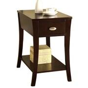 Williams Import Co. End Table in Espresso
