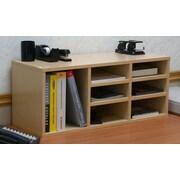 Venture Horizon VHZ Office Nine Compartment Desk Organizer; White