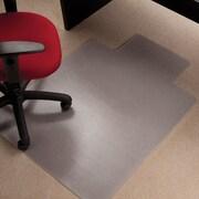 Dimex Roll-N-Go  Low Pile Carpet Edge Straight Chair Mat; 0.17'' H x 45'' W x 53'' D