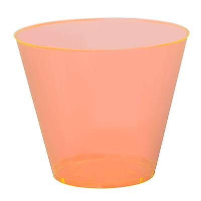 Fineline Settings, Inc Savvi Serve Old-Fashioned 9 oz. Plastic Old Fashioned Glass (500 Pack) WYF078277598711