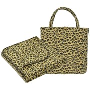 Ellery Homestyles Studio Portable Polyester Throw and Tote Bag Set