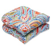 Pillow Perfect Ummi Outdoor Dining Chair Cushion (Set of 2)