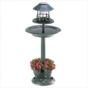 Classic Gifts and Decor Verdigris Garden Centerpiece Bird Bath