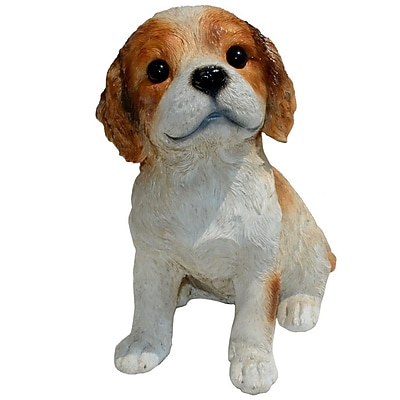 Michael Carr Cavalier King Charles Spaniel Puppy Statue WYF078277596178