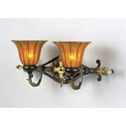 AF Lighting Moulin Lamp Elements 2 Light Vanity Light