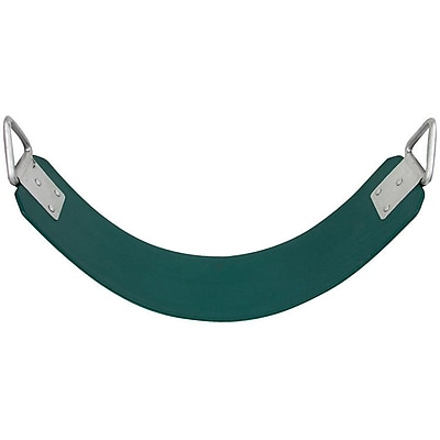 Swing Set Stuff Commercial Rubber Belt Swing Seat; Green WYF078277605473