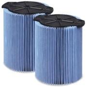 WORKSHOP Fine Dust Filter (Set of 2); 5 - 16 Gallon