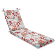 Pillow Perfect Suzanne Outdoor Chaise Lounge Cushion; Spring