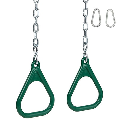 Swing Set Stuff Trapeze Rings w/ Chains
