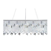 LightUpMyHome Sofia 5 Light Crystal Chandelier; Chrome