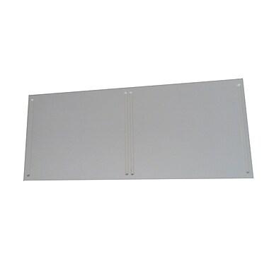 Quagga Designs qd-box™ Top Panel for 2 qd-boxes™, Off-White Stain