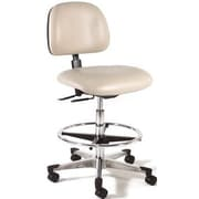 Intensa Height Adjustable Laboratory Stool w/ Seat and Back Tilt