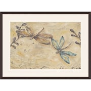 PTM Images Fluttering Butterflies II Framed Painting Print
