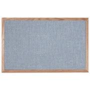 AARCO Designer Fabric Wall Mounted Bulletin Board; 2' H x 3' L