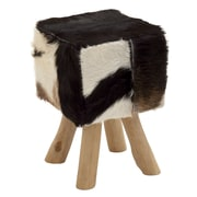 Woodland Imports Timeless Square Ottoman