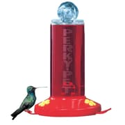 Woodstream Perky Pet 8 oz Acrylic Window Bird Feeder with 2 Fountains