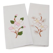 Gerbrend Creations Inc. Guest Dogwood Flowers Bath Towel