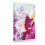 KESS InHouse 'Magenta' by Iris Lehnhardt Graphic Art on Wrapped Canvas; 10'' H x 8'' W x 2'' D