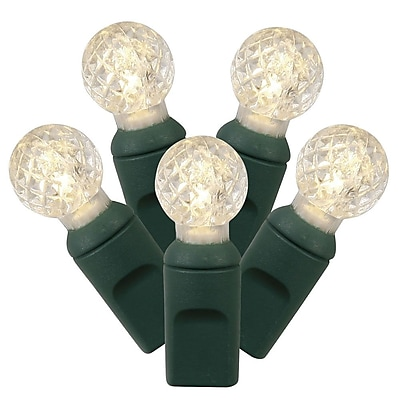 Vickerman 50 LED Light Set; Warm White WYF078277145143