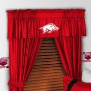 Sports Coverage NCAA 88'' Arkansas Razorbacks Curtain Valance