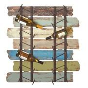 CBK 14 Bottle Wall Mounted Wine Rack