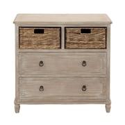 Woodland Imports 2 Drawer Dresser; Natural