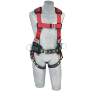 CAPITAL SAFETY GROUP USA Polyester Back and Side D-Ring Construction Harness Medium/Large