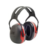 3M Occupational Health & Env Safety Over-the-Head Earmuffs Black & Red Each