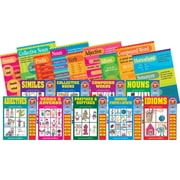 Barker Creek Reading Fundamentals Classroom Poster and Book Set, 18/Set