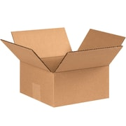 "07""x7""x3"" Partners Brand Flat Corrugated Boxes, 25/Bundle (773)"