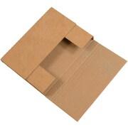 Partners Brand Brown Kraft Easy-Fold Mailers, 50/Bundle