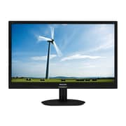 Philips Brilliance S-line 22 LED-Backlit LCD Monitor - 220S4LSB/27 - Textured Black