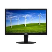 "Philips Brilliance B-line 22"" LED-Backlit LCD Monitor - 220B4LPCB/27 - Black"