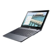 "Acer Chromebook C720P-2625 - Intel Celeron 2955U - 11.6"" HD Touchscreen - 4 GB RAM - 16 GB SSD - NX.MJAAA.004 - Granite Gray"