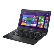 "Acer NX.V9VAA.002 14"" HD Display, Intel Core i3 4030U, 500GB HDD, 4GB RAM, Windows, TravelMate P246-M-33PH Notebook, Black"