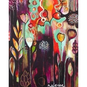 GreenBox Art Release by Flora Bowley Painting Print on Wrapped Canvas; 30'' H x 24'' W x 1.5'' D