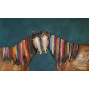 GreenBox Art 'Manes of Color' Painting Print on Canvas